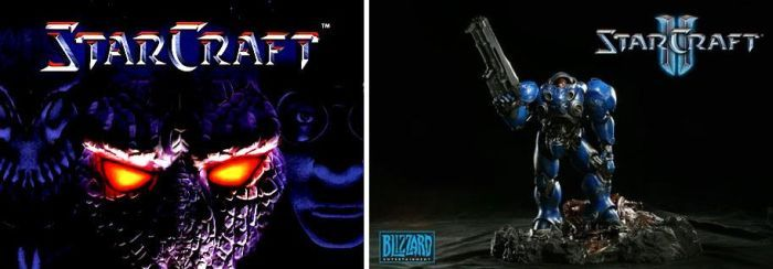 Difference Between Starcraft and Starcraft 2 (2 pics)