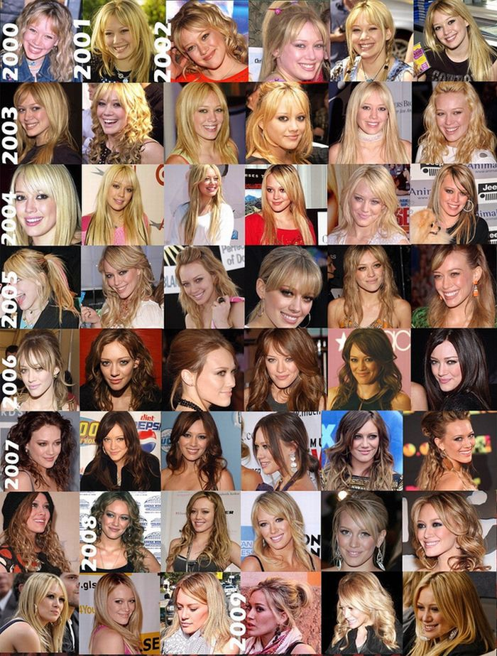 Celebrity Hair Evolutions (12 pics)