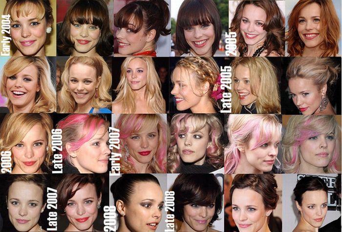 Celebrity Hair Evolutions (12 pics)