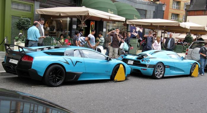 Clamped Supercars (7 pics)