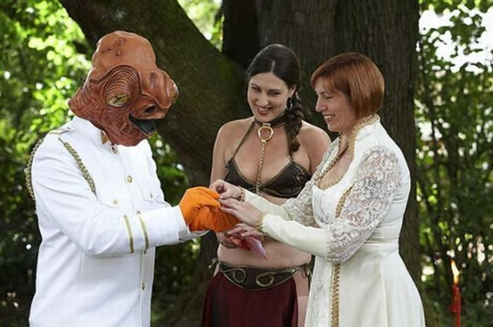 Different Types of Wedding (43 pics)