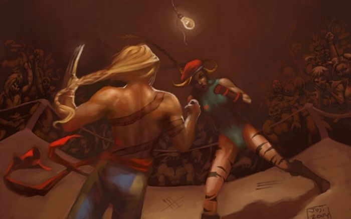 Awesome Street Fight Art (40 pics)