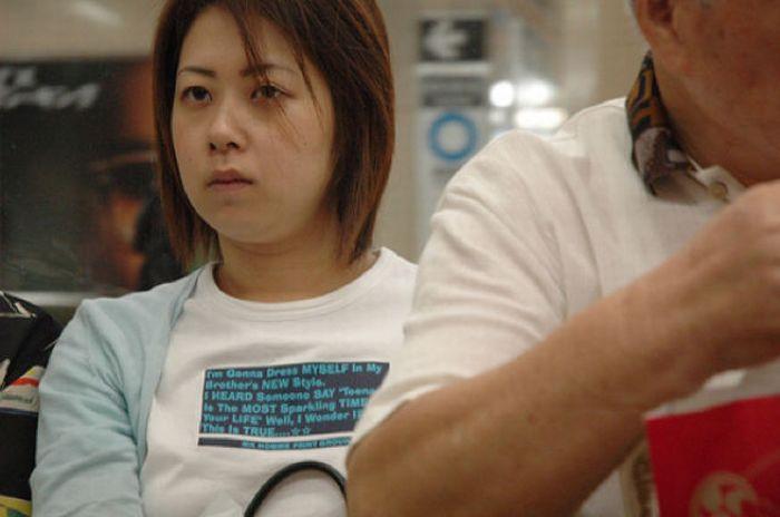 Asians Wearing Engrish T-Shirts (30 pics)