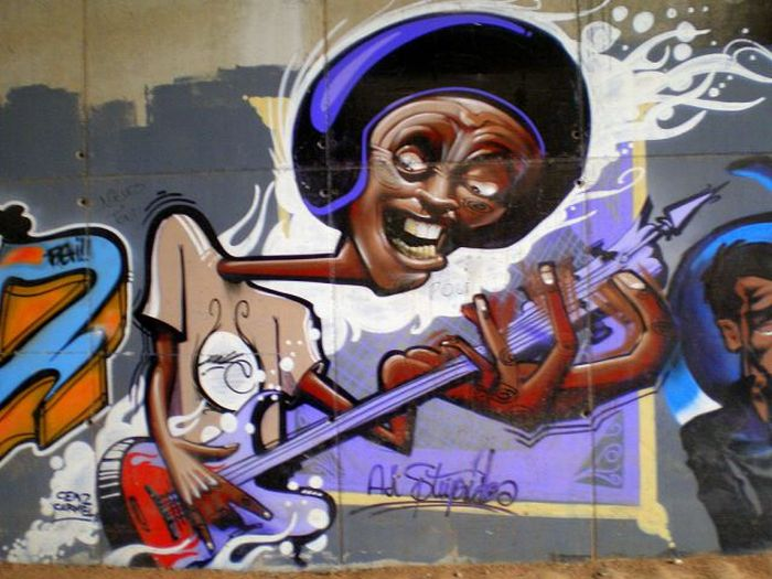 Beautiful Graffiti Art (65 pics)