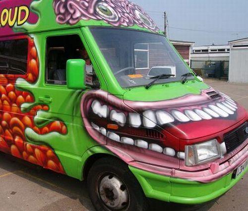 Cars 2 Characters >> Cool Vans (30 pics)
