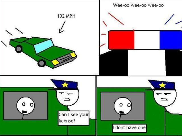 How to Avoid a Speeding Ticket (5 pics)