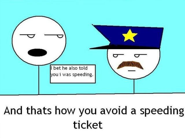 How to Avoid a Speeding Ticket (5 pics)
