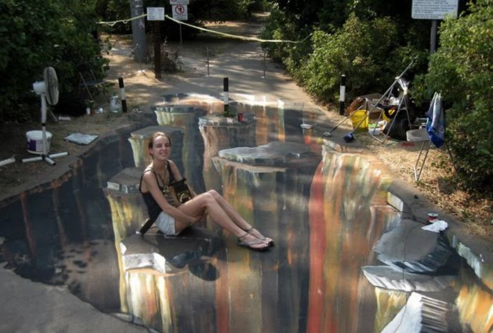 3D Pictures Art In Parks Of Moscow (11 pics)