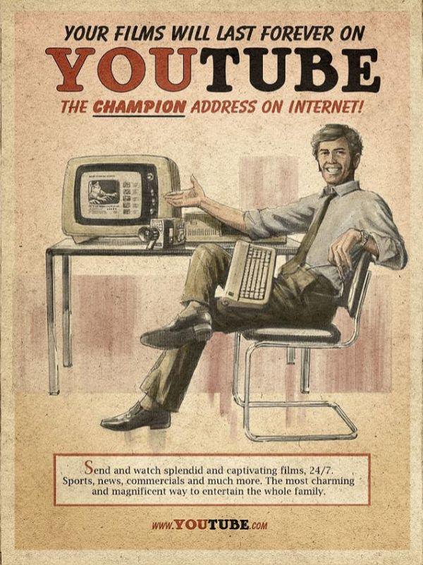 Vintage Internet Ads (3 pics)