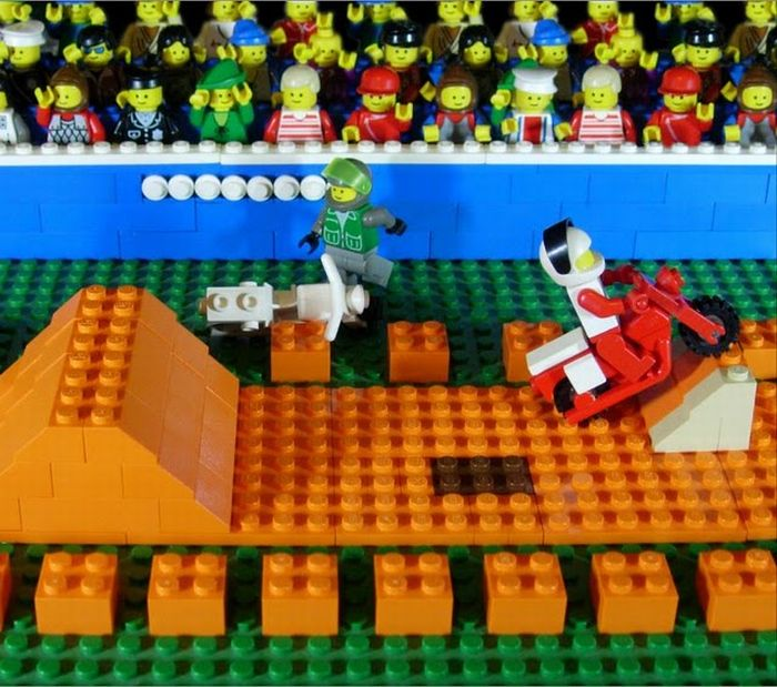 Classic Video Game Scenes Recreated in LEGO (11 pics)