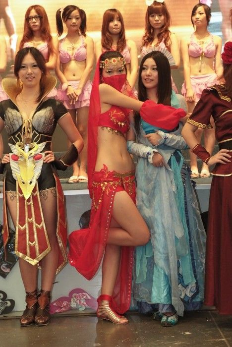 Girls of ChinaJoy 2010 (52 pics)