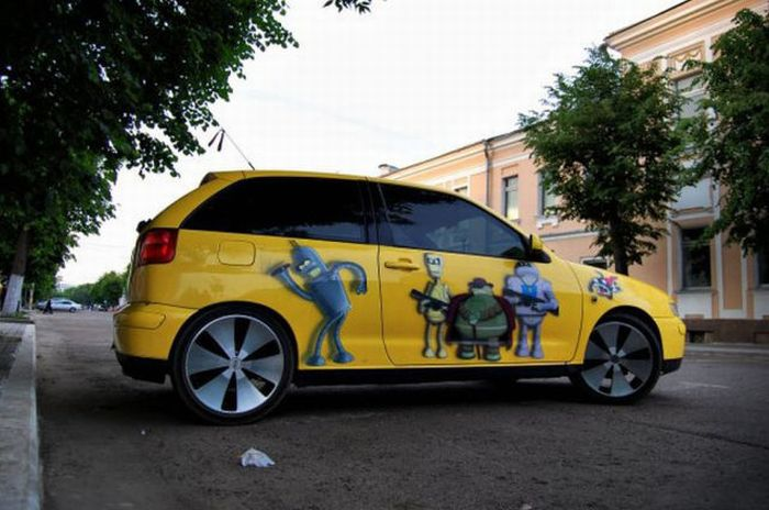 Car of a Futurama Fan (12 pics)