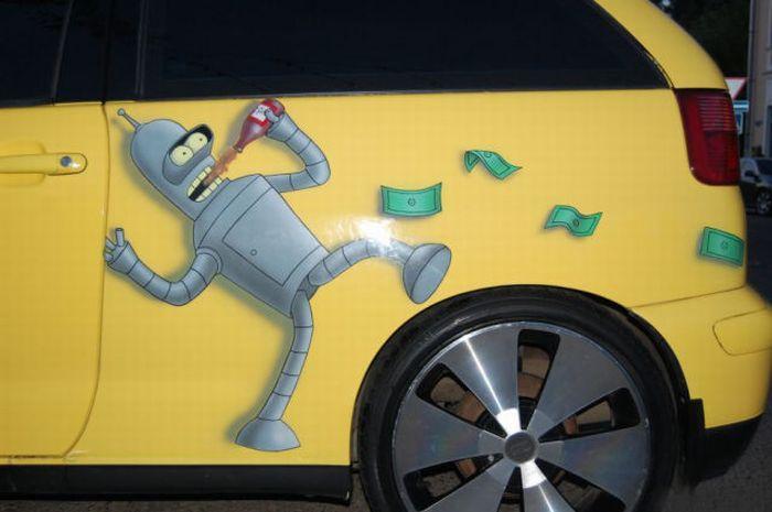 Car of a Futurama Fan (12 pics)