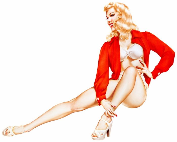Pin-up Girls (130 pics)