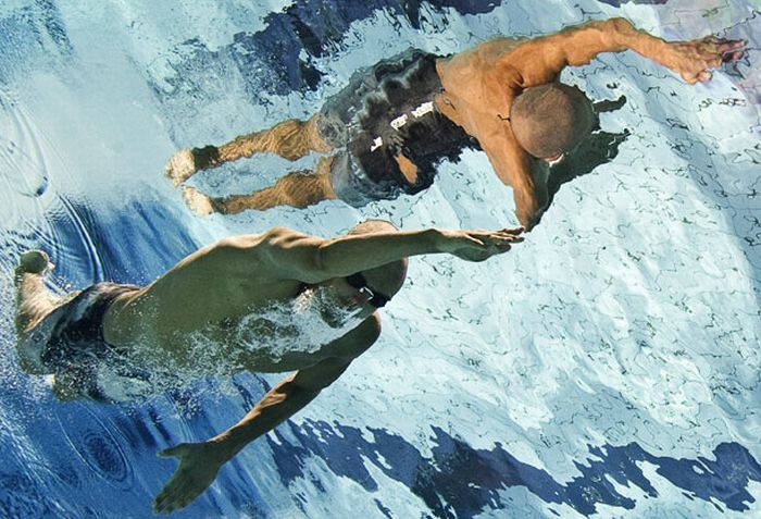 Underwater Photos of Swimmers (24 pics)