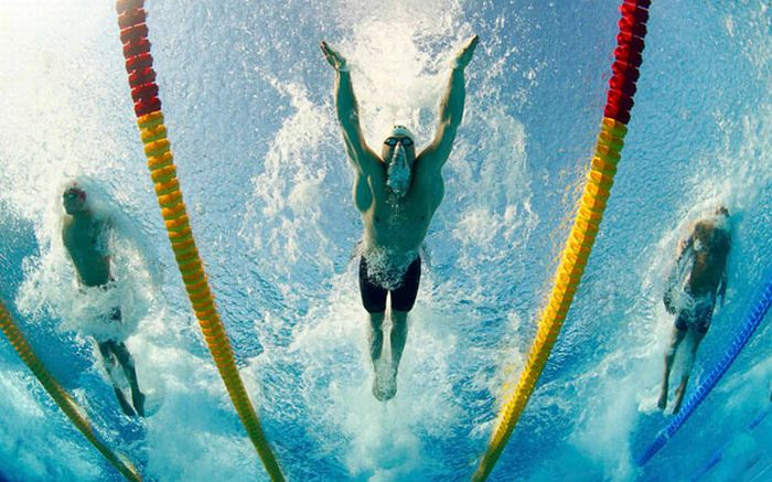Underwater Photos of Swimmers (24 pics)