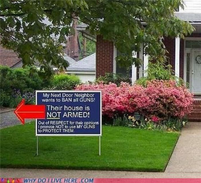 When Your Neighbors Are Too Weird (49 pics)