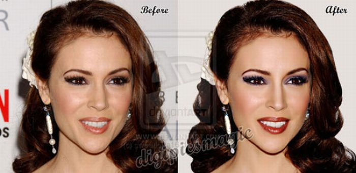 Shocking Gallery Of Retouched Celebrity Photos | Bossip
