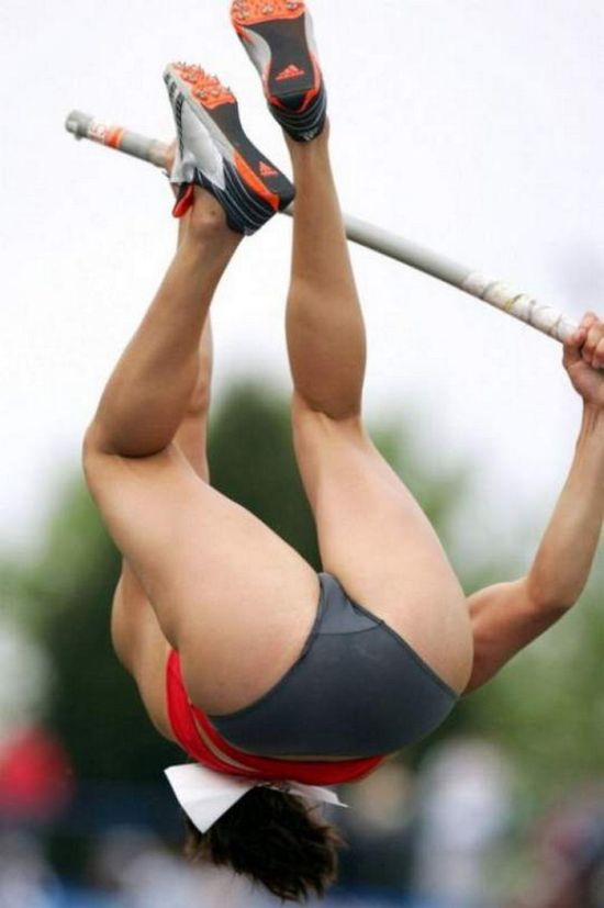 Pole vault pussy point