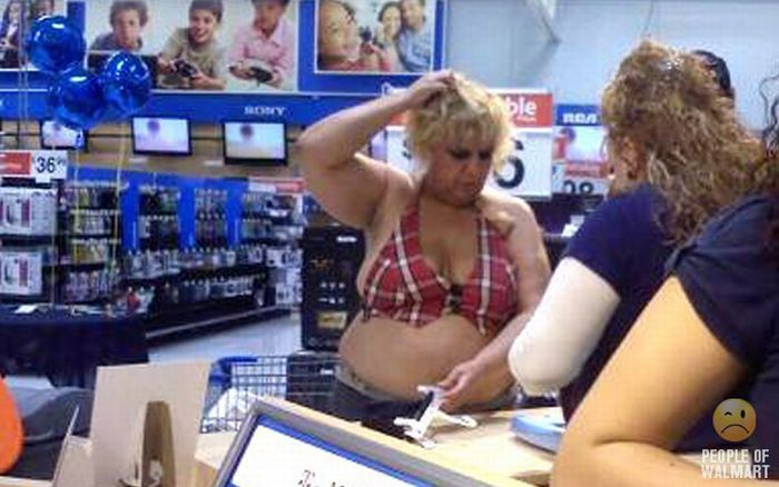 People of WalMart. Part 6 (85 pics)