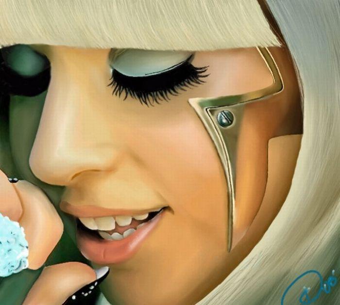 50 Lady Gaga Artworks (50 pics)