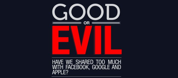 Good or Evil (infographic)