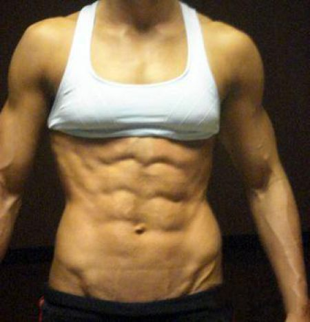 Women with Six Pack Abs (7 pics)