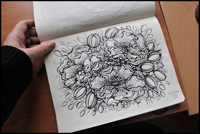 Awesome Sketchbook Drawings (21 pics)