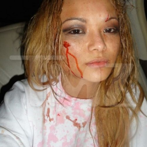 Tila Tequila Attacked at Rowdy Concert (12 pics)