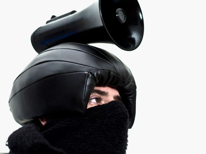 C.O.P Suit - Personal Protest Wear (6 pics)