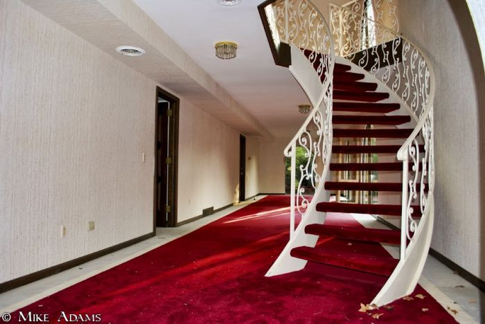 Abandoned Mike Tyson's Mansion (54 pics)