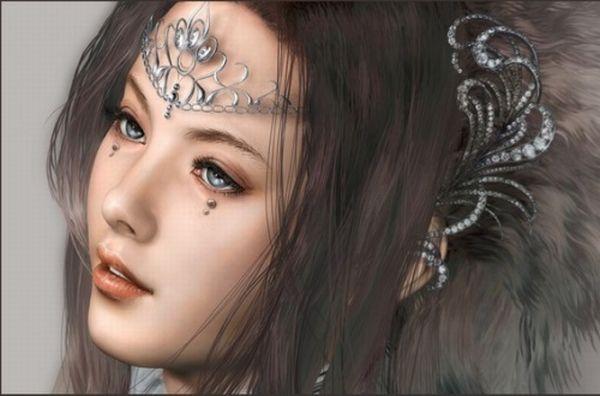 Beautiful CG Girls (24 pics)