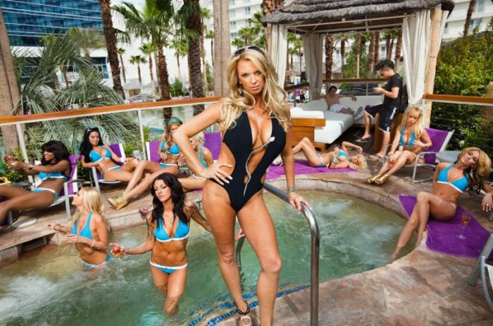 Girls from Cabana Candy Group in Palms Casino Resort, Las Vegas (15 pics)