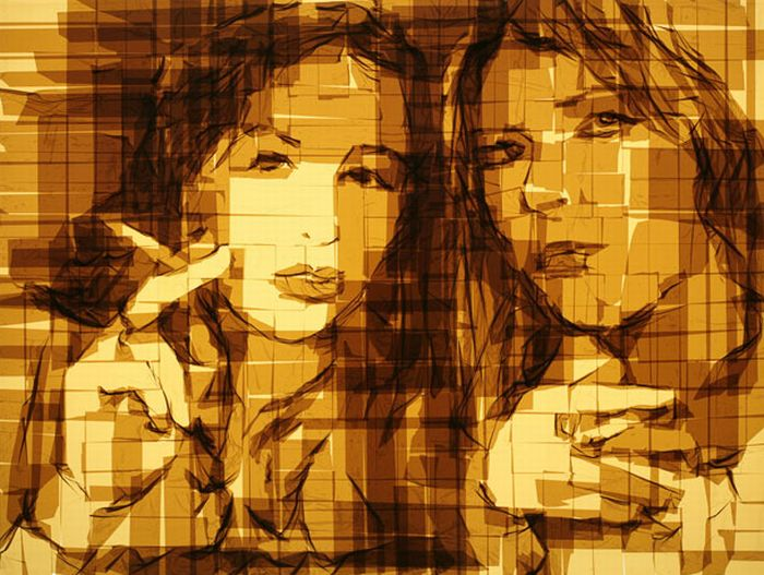 Parcel Tape Art (15 pics)