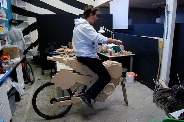 Pixel Bike From Nintendo's ExciteBike (41 pics)