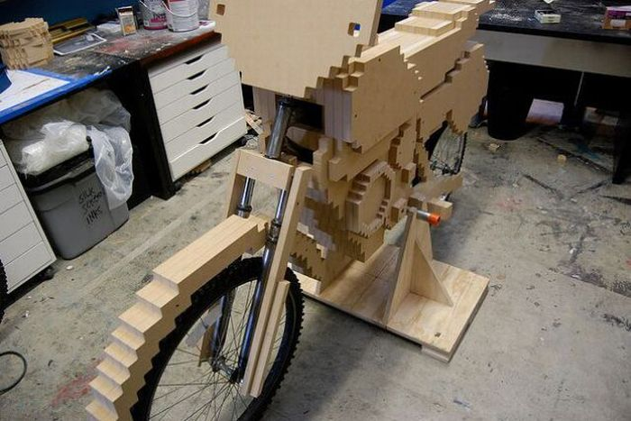 Pixel Bike From Nintendo's ExciteBike (41 pics)
