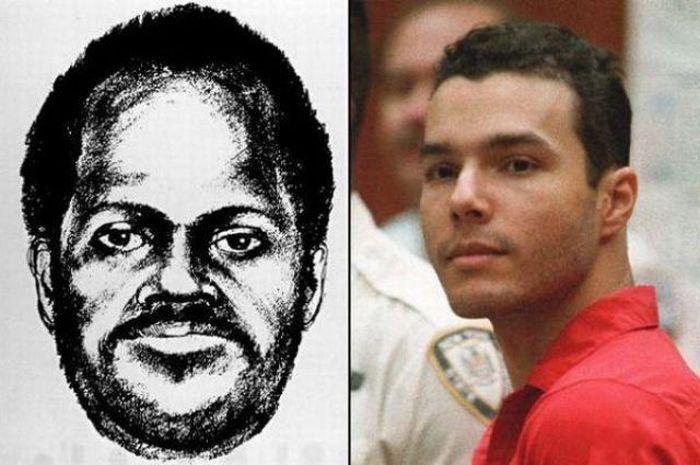 Police Sketches vs. Mugshots. Part 2 (13 pics)