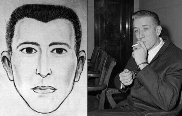Police Sketches vs. Mugshots. Part 2 (13 pics)