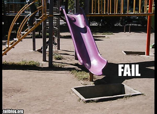 Hilarious Playground Fails (11 pics)