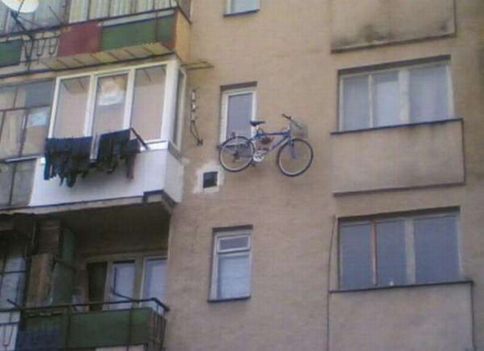 Innovate Bicycle Parking Techniques (20 pics)