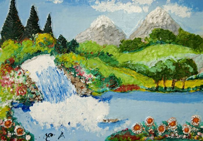 Paintings of a Blind Artist (43 pics)