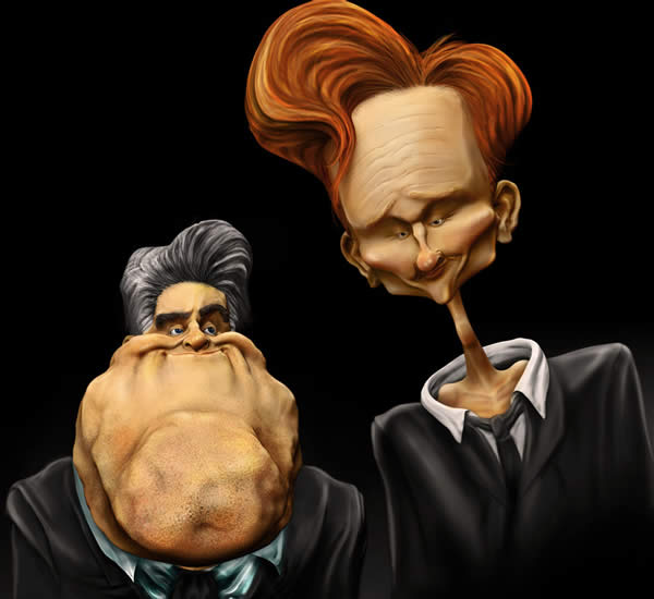 Awesome Celebrity Caricatures (50 pics)