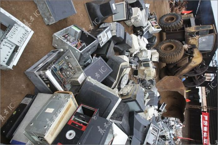 Computers Confiscated From Illegal Internet Cafes (9 pics)
