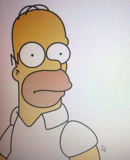OMG. Homer Simpson's Doppelganger (NSFW picture)