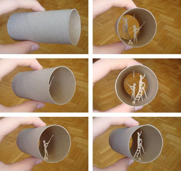 Paper Roll Cuts (36 pics)
