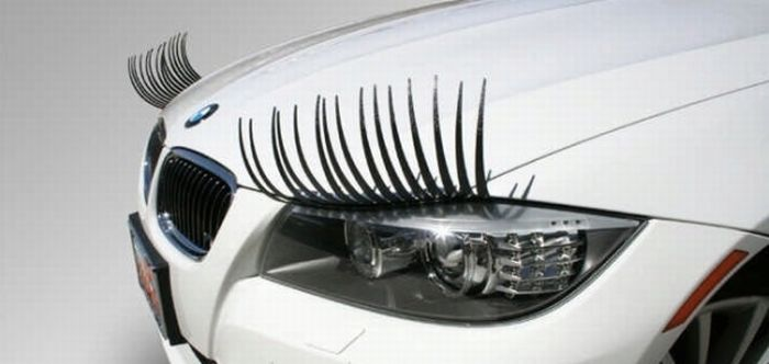 Car Lashes (17 pics)