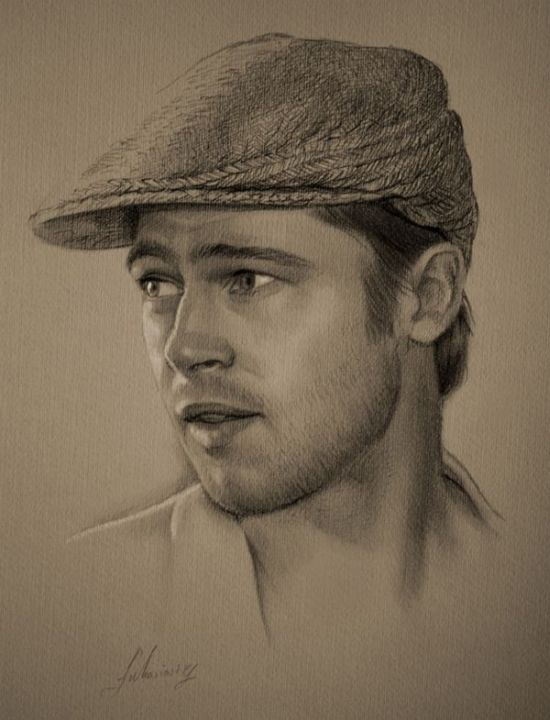 Celebrities Drawn in Pencil (18 pics)