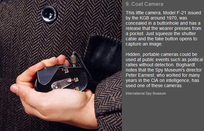 The Most Interesting Spy Gadgets (11 pics)