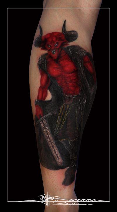 Scary Tattoos (23 pics)