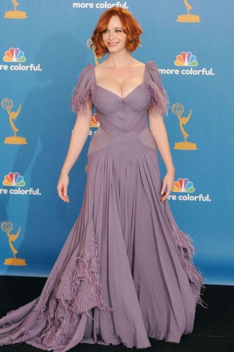 Christina Hendricks at the Emmys 2010 (17 pics)